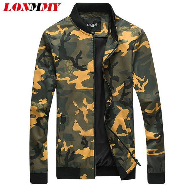 Special offer LONMMY 5XL 2017 Spring Bomber jacket men Coat Camouflage Casual Slim fit Fashion Brand clothing army military jacket coat men just only $33.58 - 37.54 with free shipping worldwide  #jacketscoatsformen Plese click on picture to see our special price for you