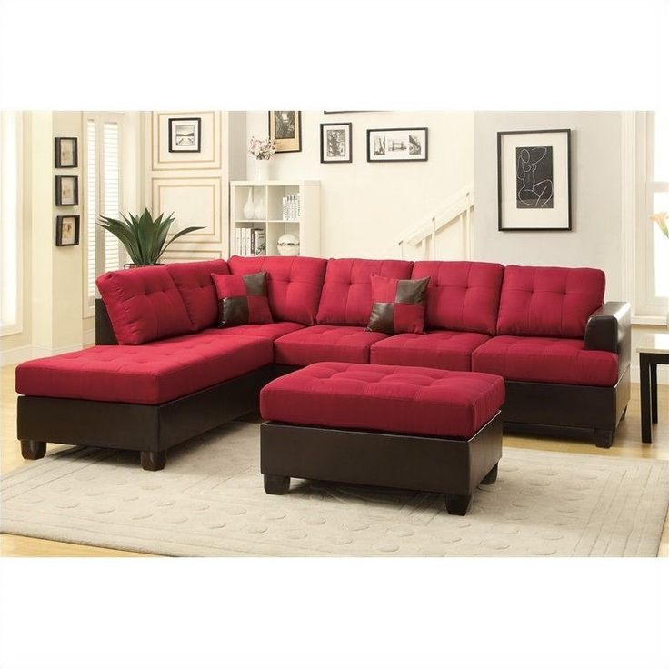 Nice Red Sectional Sofa Trend 97 With Additional Room Ideas