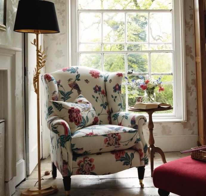 Superb Laura Ashley   Lovely Reading Chair And Nook