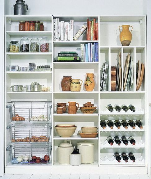 7 best pantry systems images on pinterest organization for Best pantry shelving system
