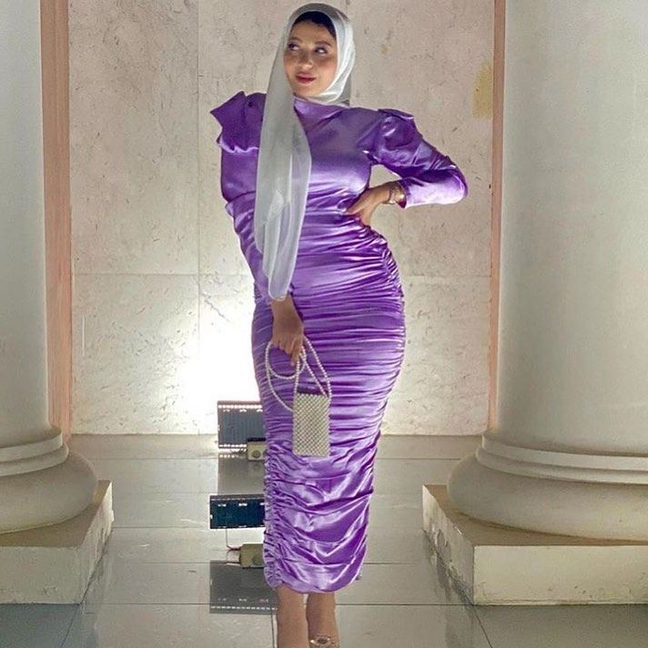 Instagram Photo By مريم Nov 3 2020 At 9 07 Pm Elegant Dresses For Women Dress Clothes For Women Dresses