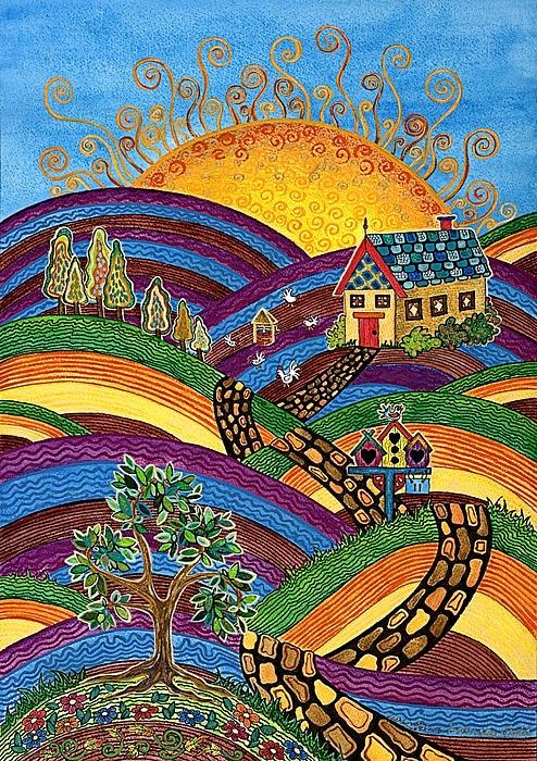 Australian Artist Lisa Frances Judd.