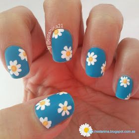 Nail Care Routine For Long Nails as Dead Sea Nail Care Products - Summer Nail Ideen Daisy Nail Art, Daisy Nails, Flower Nails, Ongles Funky, Funky Nails, Sea Nails, Matte Nails, Minimalist Nails, Nail Care Routine