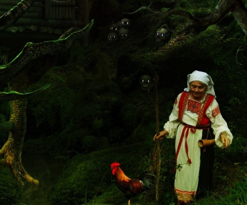 Baba Yaga's themes are the harvest, rest, providence, thankfulness and cycles. Her symbols are corn sheafs, wreaths of wheat, corn, rye and wild flowers.  This Lithuanian/Russian Goddess of regeneration, Baba Yaga is typically represented as the last sheaf of corn in today's festivities – Obzinky. As both young and old, She reawakens in us an awareness of time's ever-moving wheel, the seasons and the significance of both to our Goddess-centered magic.