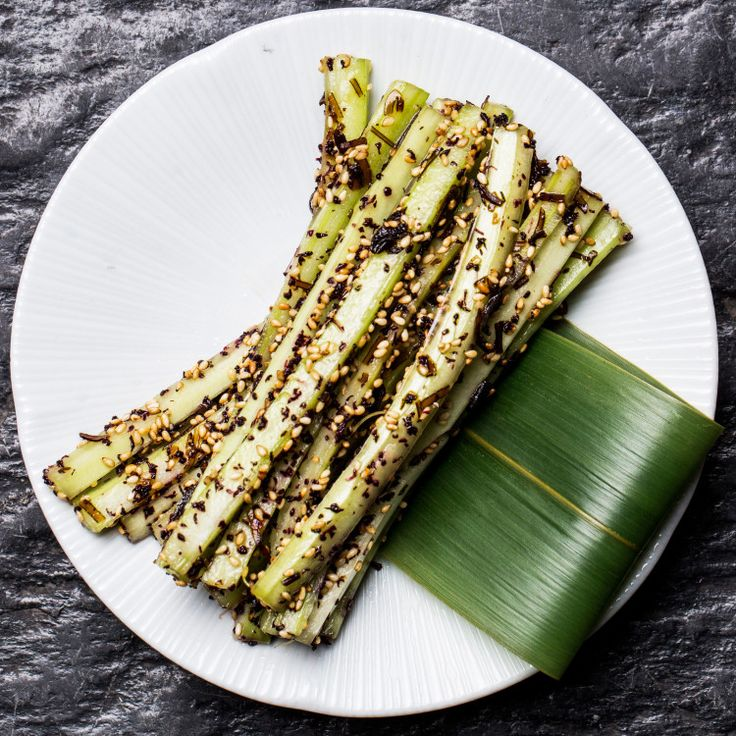 The crunchy, salty, sesame-drenched celery sticks at Bar Goto in New York are so good, you'll forget they're made from vegetables.