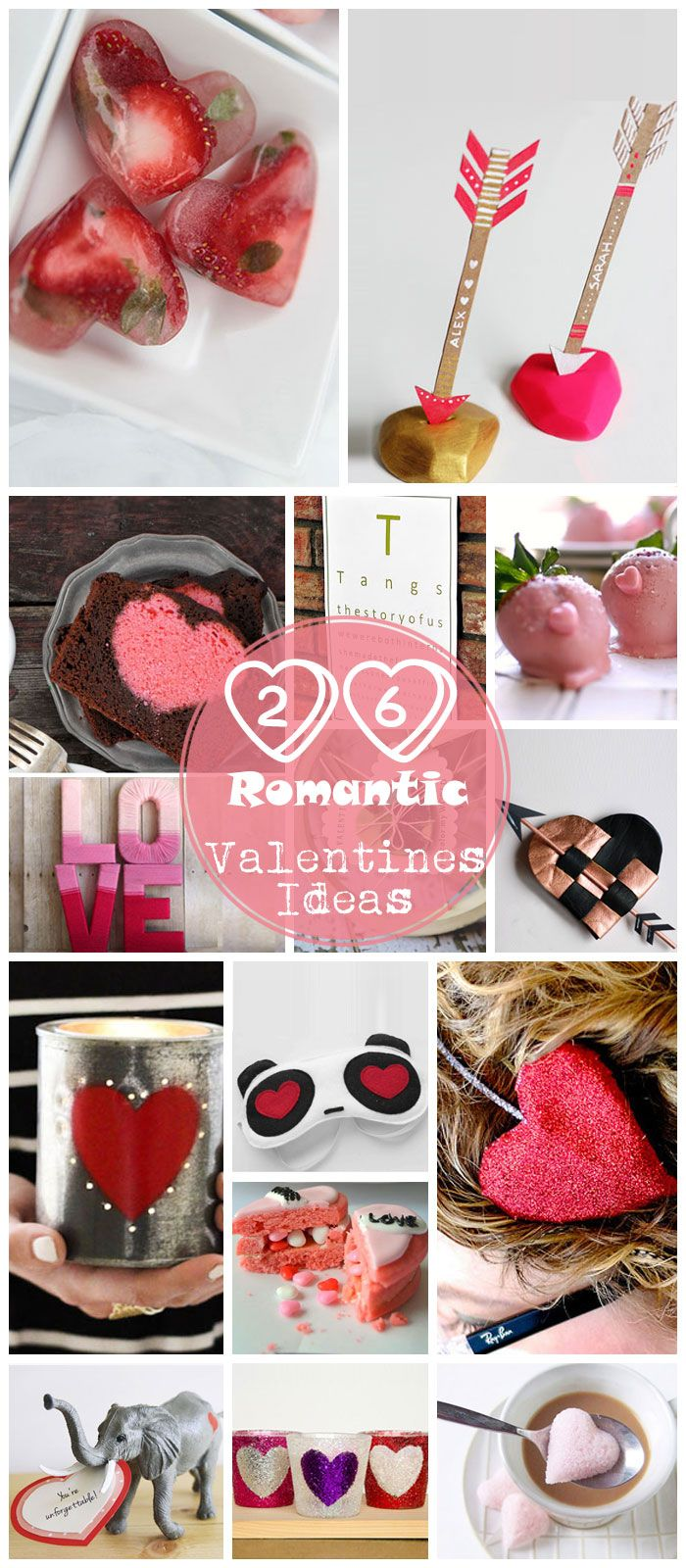 Click Pick For 26 Diy Romantic Valentines Day Ideas For