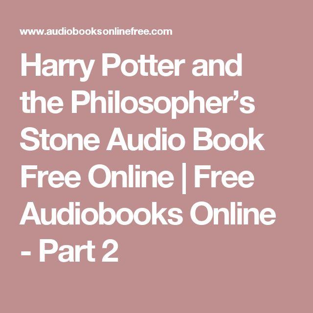 harry potter audio books free online