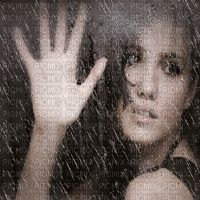 rain picmix pictures   sad woman animated in rain window, woman animated - PicMix
