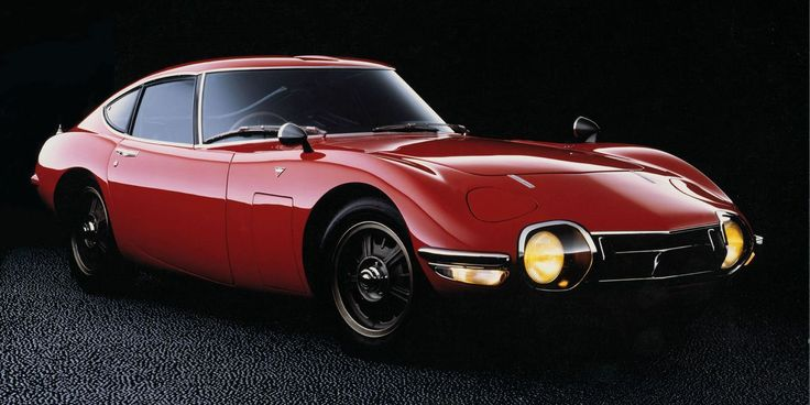 The 18 Best Sports Cars From the 1960s | Toyota 2000gt ...