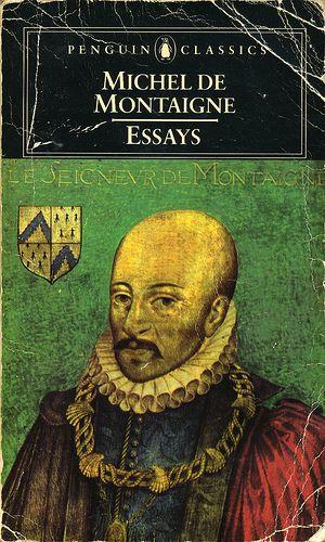 Essays by montaigne