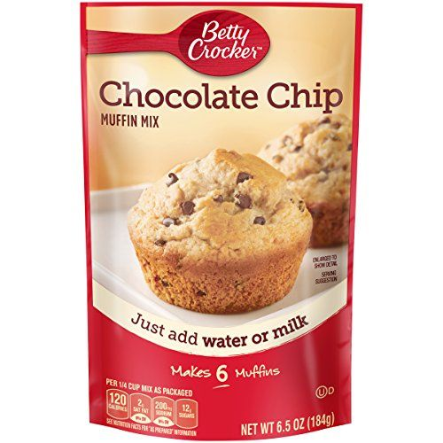 Betty Crocker Chocolate Chip Muffin Mix  65 oz *** You can find out more details at the link of the image.(This is an Amazon affiliate link and I receive a commission for the sales)