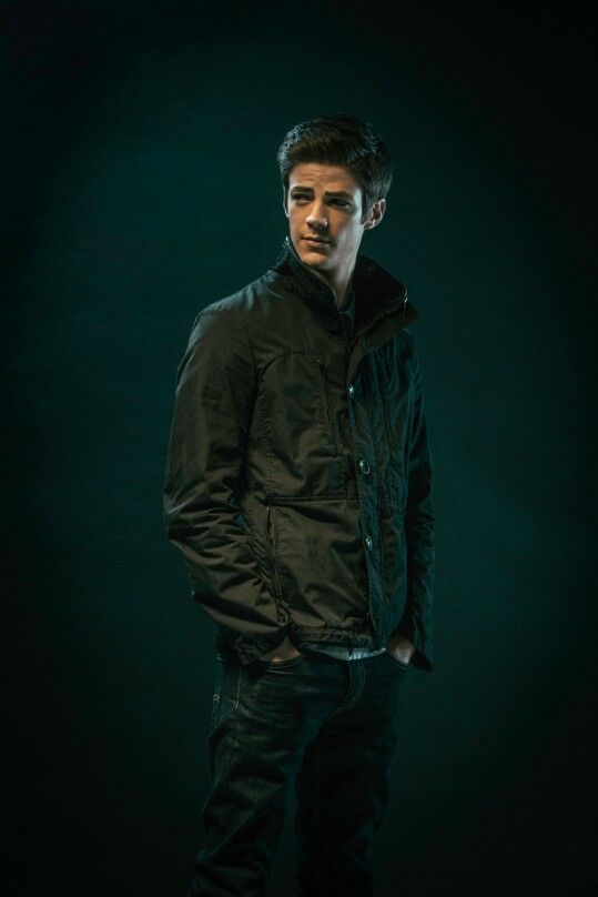 Grant Gustin for AdWeek #TheFlash