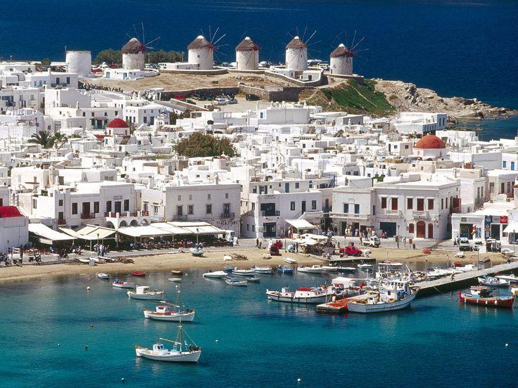 Mykonos, Greece: Mykonos Greece, Bucketlist, Mykonos Islands, Buckets Lists, Favorite Places, Beautiful Places, Places I D, Travel, Greek Islands