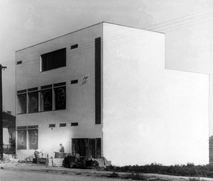 263 best modern architecture 1930s images on pinterest for Architecture 1930