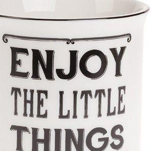 Kubek Enjoy little things Sklep Wyposażenie i Dekoracja Wnętrz - Wystrój Domu - Prezenty - Sklep Country Avenue