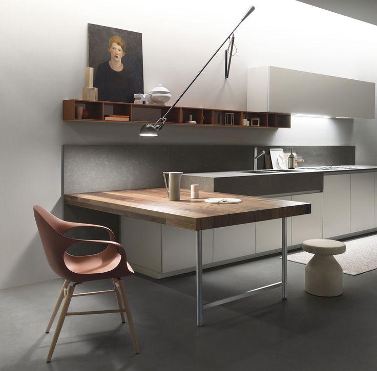 Idee Per Cucine Piccole. Idee Di Cucine Moderne Con Legno Colori ...