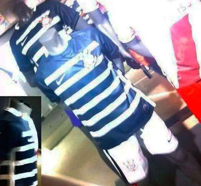 Vazou? Imagens da suposta nova camisa do Corinthians aparecem na internet +http://brml.co/1G3BnKa