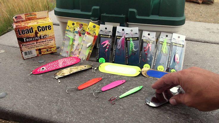 Some of the lures I like to use for Kokanee Salmon.
