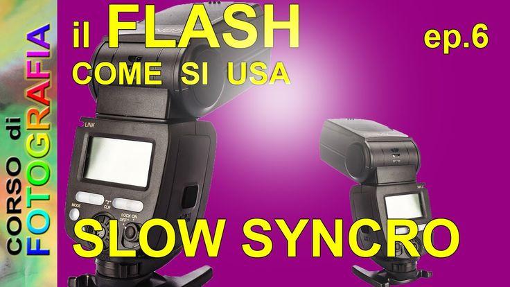 Corso di fotografia - Fotografare con il flash ep. 6, Slow Syncro flash,...