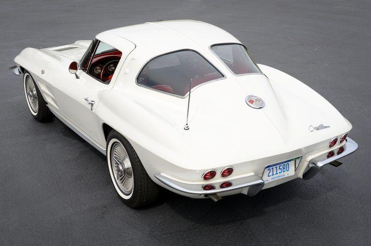 1963 Chevrolet Corvette Split-Window Coupe 327/340 4-Speed