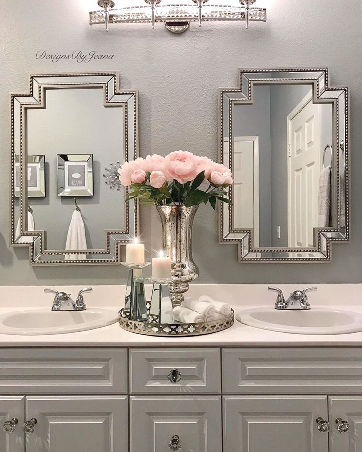 Bathroom Decor In 2020 Restroom Decor Glamorous Bathroom Pink Bathroom Accessories