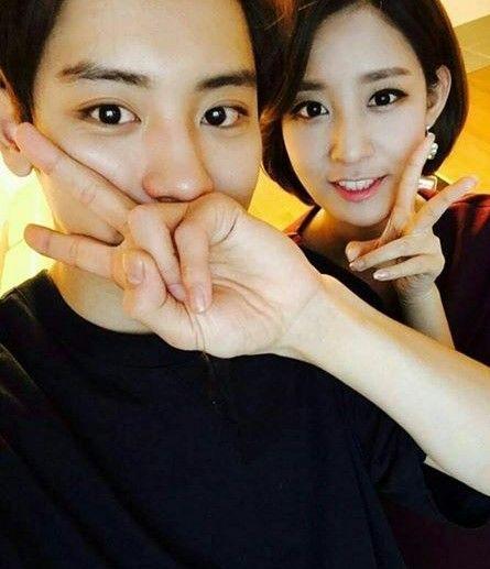 Chanyeol + Sister
