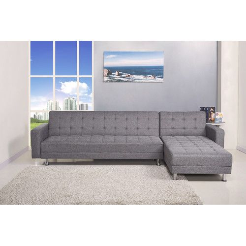 Kaleidoscope Furniture Barcelona Reversible Chaise Sectional