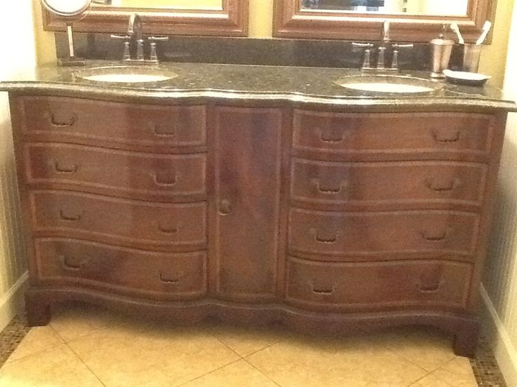 Converting Dresser To Bathroom Vanity Aardvark Antiques Customers Testimonials For The Home