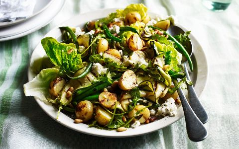 Courgette and Potato Salad