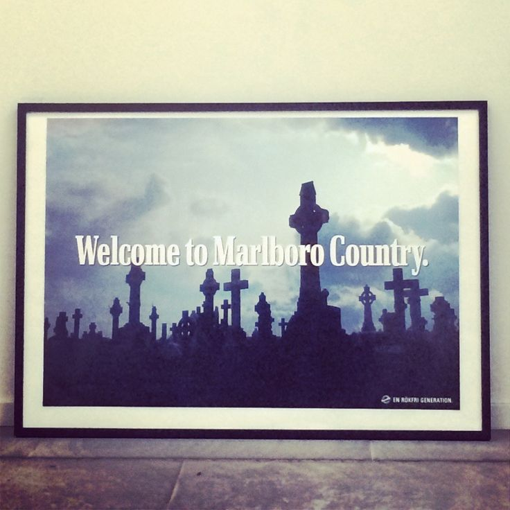Welcome to Marlboro Country - Plansch via A Non Smoking Generation. Click on the image to see more!