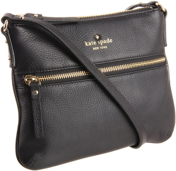 Kate Spade New York Cobble Hill Tenley PWRU2587 Cross Body,Black,One Size: Amazon.com: Clothing