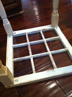 window to coffee table