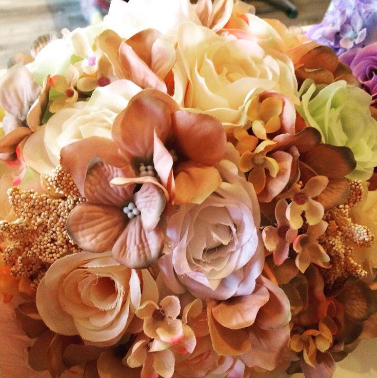 Svatební kytice na přání.
