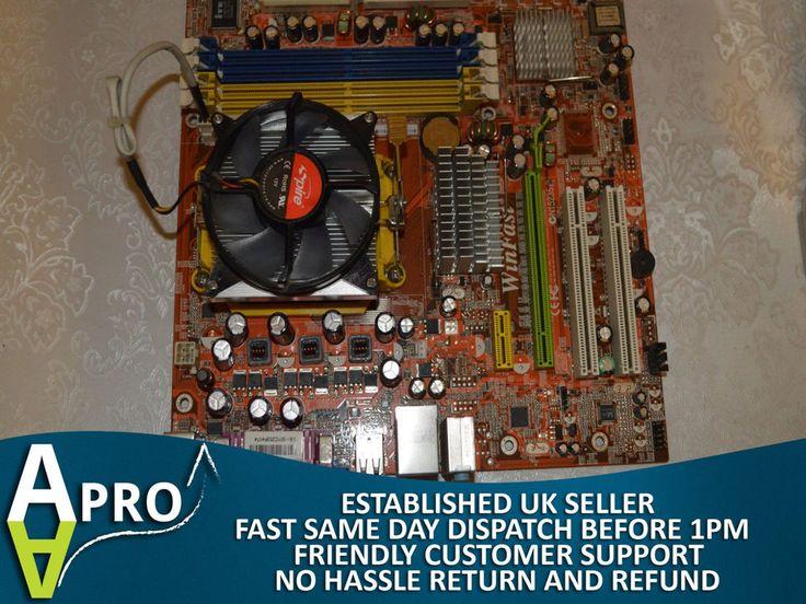 WINFAST 6150M2MA AMD SOCKET AM2 AMD ATHLON 64x2 4600+ PCI-EX PCI DDR2 UK SELLER