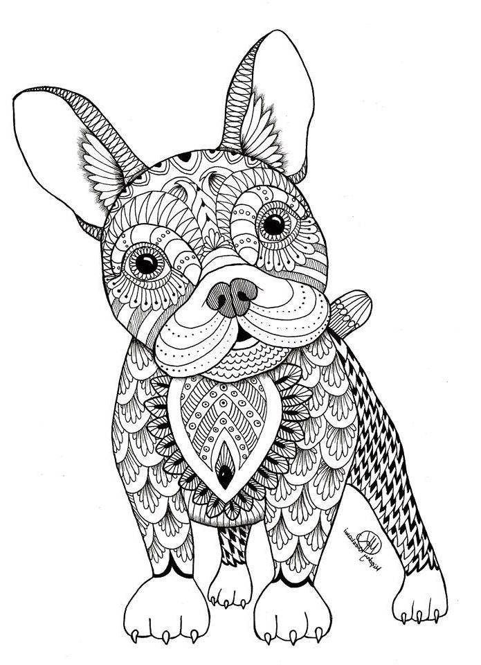 Animal Mandala Coloring Book Animal Coloring Pages Mandala Coloring Animal Coloring Books