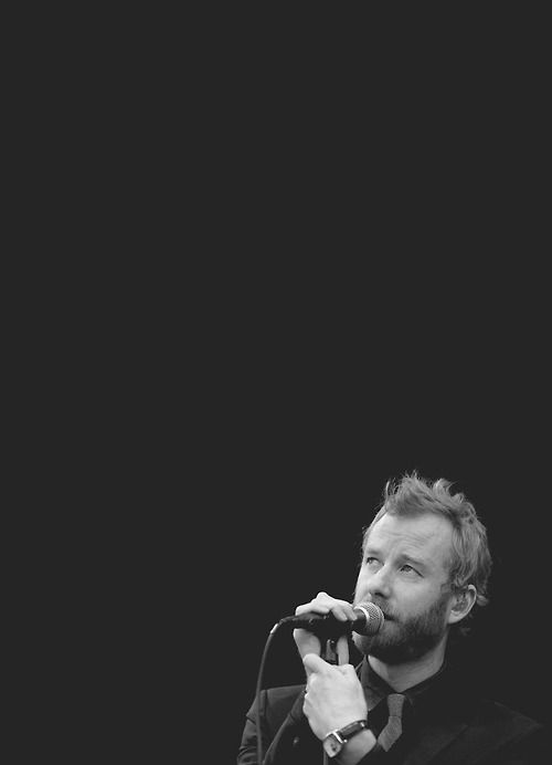 Matt Berninger I never write lyrics out of context with the music. I never sit with a notebook and just start writing lyrics. I do...