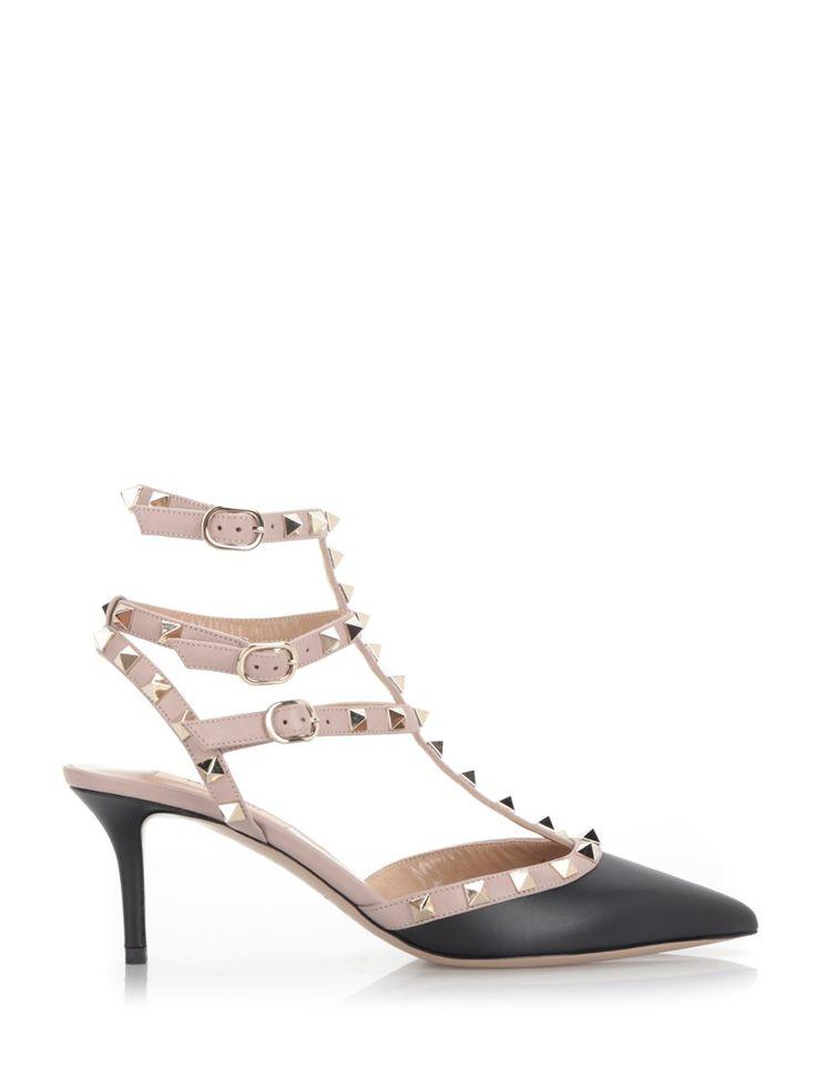 valentino black and pink rockstud pumps valentino shoes pumps