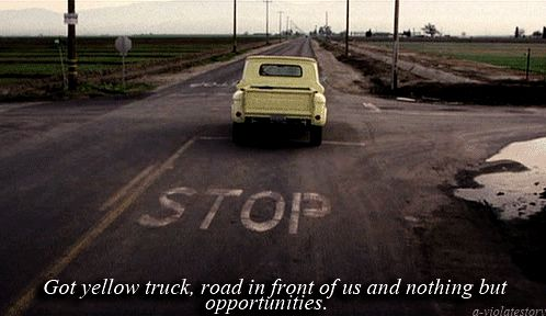 I think the most heart wrenching part about this movie was when Natalie drove away in Keith's truck after fixing it. She showed her true love for that boy even after he left for good. I cried like a baby.