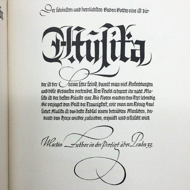 Wonderful blackletter written by Rudo Spemann