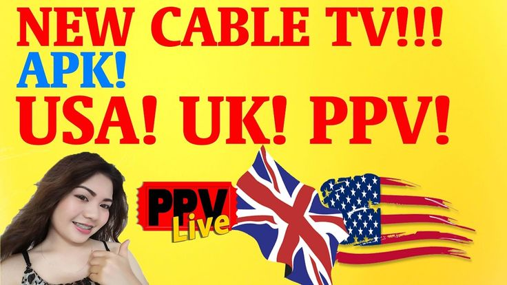 DROP YOUR CABLE COMPANY - FREE LIVE IPTV APK IS HERE (USA , UK AND SPORT...