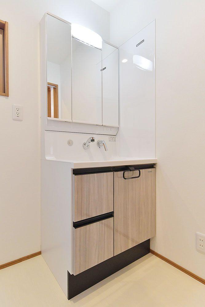 タカラスタンダード 洗面台 洗面 施工事例 デザイン住宅 自由設計
