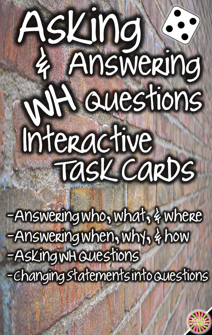 Looking for ideas to increase engagement with your students? DICE DECKS interactive task cards teach specific skills while keeping their attention! Great for individual, small group (speech therapy, RTI, etc.), or even whole-class learning. Click to view this Asking and Answering WH Questions bundle!