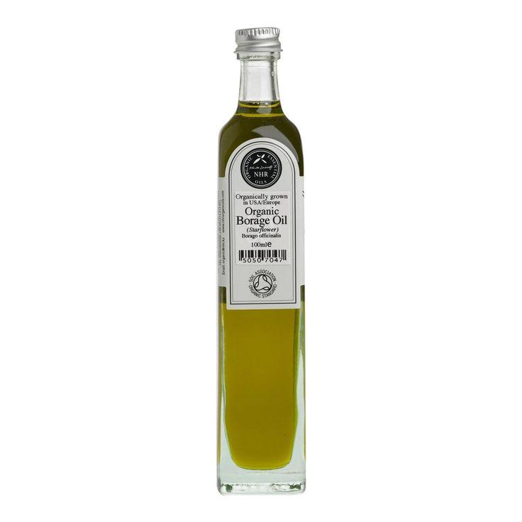 Hjulkroneolie (Borage Seed Oil) Økologisk til hudpleje & aromaterapi