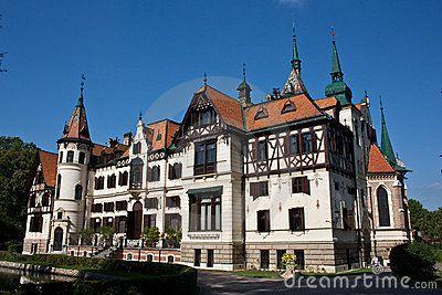 Lesna castle, Czech Republic