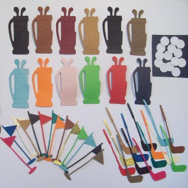 Golf Card Topper 50pce Set £2.50