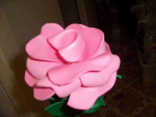 Manualidades con fomi foami o goma eva c mo hacer - Www como hacer flores com ...