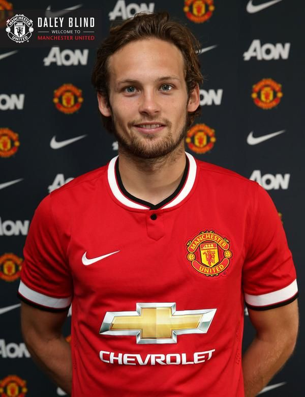 Daley Blind signed for Manchester United