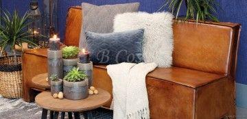 "Lifestyle94-Lifestyle Aspen Dining Sofa Brown Leather <span style=""font-size: 6pt;""> Salon-Bank-Zitbank-Divan-Canapé-Sofa-Zetel-fauteuil-seat-sessel-Couch </span>"