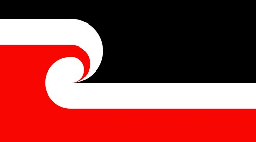 Maori National Flag     Black – represents Te Korekore, the realm of Potential Being. It represents the long darkness from whence the world emerged. It represents the heavens. The male element is formless, floating and passive.    White – represents Te Ao Marama, the realm of Being and Light. It is the Physical World. White also symbolises purity, harmony, enlightenment, and balance.    Koru – the curling frond shape, the Koru, represents the unfolding of new life. It represents rebirth and…