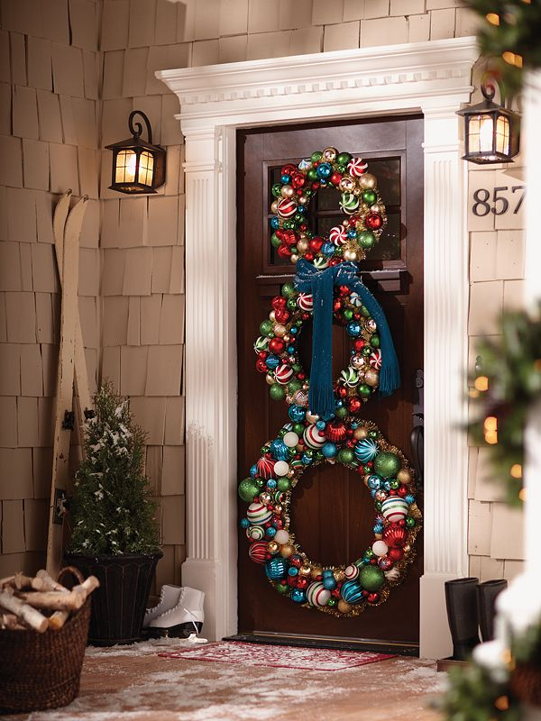 Christmas Craft Ideas: Snowman Wreath